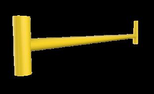 Base horizontal, Andamio de carga García Vega