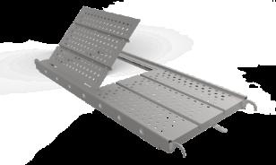 Plataforma metálica con acceso, Andamio Multidireccional certificado García Vega