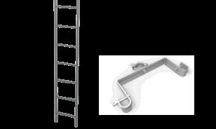 Escalera externa, Andamio Multidireccional certificado García Vega