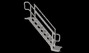 Escalera de peldaño, Andamio Multidireccional certificado García Vega