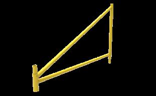 Marco triangular, Andamio de carga García Vega